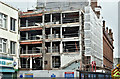J3374 : Commonwealth House demolition, Belfast (February 2017) by Albert Bridge