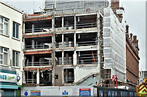 J3374 : Commonwealth House demolition, Belfast (February 2017) by Albert Bridge