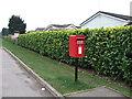 TL2873 : Elizabeth II postbox on Sawtry Way (B1090) by JThomas