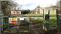 TG2202 : Caistor St Edmund sewage works - entrance by Evelyn Simak