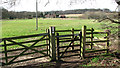 TG2202 : Gate into a pasture by Bottom End Farm by Evelyn Simak