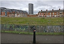 SK5803 : Waste ground next to Lineker Road by Mat Fascione