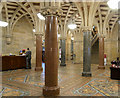 SD8913 : Rochdale Town Hall Entrance Lobby, The Exchange by David Dixon
