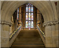 SD8913 : The Grand Staircase, Rochdale Town Hall by David Dixon