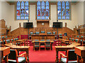 SD8913 : Council Chamber (former Magistrates' Court), Rochdale Town Hall by David Dixon
