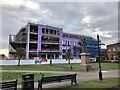 SJ8546 : Newcastle-under-Lyme: new public sector hub under construction by Jonathan Hutchins