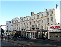 TQ2804 : 1-8, Victoria Terrace, Kingsway, Hove by Simon Carey