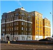 TQ2804 : Courtenay Gate, Courtenay Terrace, Kingsway by Simon Carey