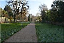 TQ5940 : Entry path, Grosvenor Park by N Chadwick