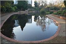 TQ5940 : Main lake, Grosvenor Park by N Chadwick