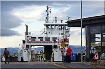 NS2059 : Ferry at Largs by Thomas Nugent