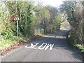TL8530 : Slow Road Narrows by Keith Evans