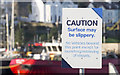 J5082 : Warning sign, Bangor Harbour by Rossographer
