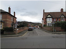 SO6024 : South along Camp Road, Ross-on-Wye by Jaggery