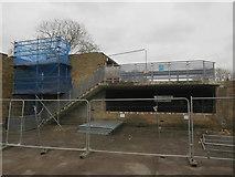 TL4658 : Garages, St Matthew's Street by Hugh Venables