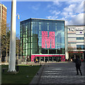 TL0921 : Northwest entrance to The Mall, St George's Square, Luton by Robin Stott