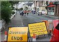 SX9165 : Street party preps, Upton Road, Torquay by Derek Harper