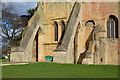 SO9445 : Pershore Abbey detail by Julian P Guffogg