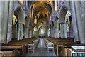 SO9445 : Interior, Pershore Abbey by J.Hannan-Briggs