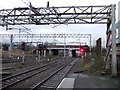 SP3692 : Railway heading south east from Nuneaton Railway Station by JThomas