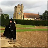 TQ7515 : Battle church from Battle Abbey grounds by Patrick Roper