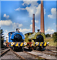 SD7901 : Last Day of Steam at Agecroft by David Dixon
