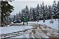 NT2741 : Buzzard's Nest car park, Glentress bike trails by Jim Barton