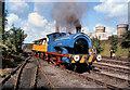 SD7901 : Steam Railway at Agecroft Power Station by David Dixon
