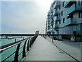 TQ3303 : Brighton marina boardwalk by Paul Gillett