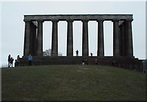 NT2674 : The National Monument, Calton Hill by Richard Sutcliffe