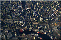 NJ9406 : Aberdeen city centre from the air by Mike Pennington