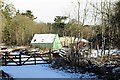 NJ7638 : Fyvie Sawmill by Andrew Wood