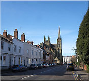 SP3265 : View along Priory Terrace, Leamington Spa by Julian Osley
