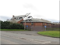 NZ2582 : Bedlington Law Courts by Graham Robson