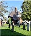 SP3066 : Milverton Cemetery lodge by Alan Murray-Rust
