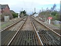 NZ3761 : Railway line north-west of East Boldon station by Christine Johnstone