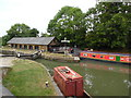 SP9213 : Bulbourne Dry Dock and Canal Boat by David Hillas