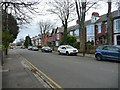 NZ3661 : Terraced houses on the B1299, East Boldon by Christine Johnstone