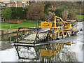 TL4659 : River Cam Conservancy weed harvester by John Sutton