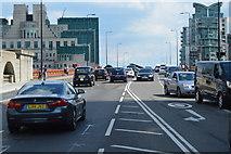 TQ3078 : A202, Vauxhall Bridge by N Chadwick