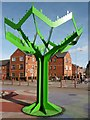 ST3186 : Public artwork, Commercial Road, Newport by Robin Drayton