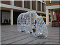 SX9292 : Princesshay - Christmas decorations by Chris Allen