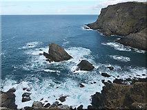 NC3871 : Cliffs at Faraid Head by Julian Paren