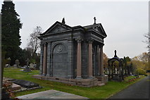 TQ5937 : Mausoleum, Kent & Sussex Cemetery by N Chadwick