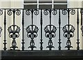 SP3166 : Balcony balustrade, 41 Parade, Royal Leamington Spa by Alan Murray-Rust