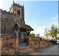 SJ7798 : St Mary's Lychgate by Gerald England