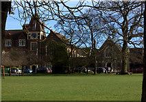 TL1314 : St George's School, Harpenden by Robert Eva