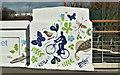 J3674 : Street art, Mersey Street bridge, Belfast (March 2017) by Albert Bridge