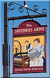 NY3853 : The Spinners Arms, Cummersdale - March 2017 (3) by The Carlisle Kid