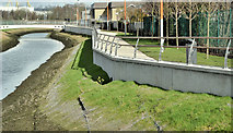 J3674 : Connswater path, Belfast - March 2017(4) by Albert Bridge